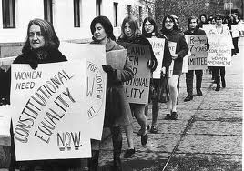The Feminist Movement Was Women All Across America Fighting For Equal Rights As Men They Wanted To End Gender Roles In Politicallegaleconomic Fields
