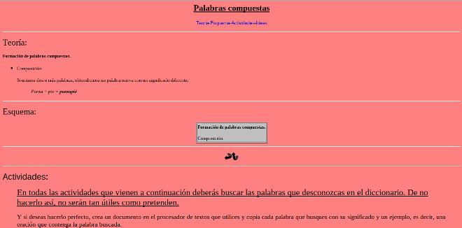 Resultado de imagen de http://roble.pntic.mec.es/~msanto1/lengua/compues.htm