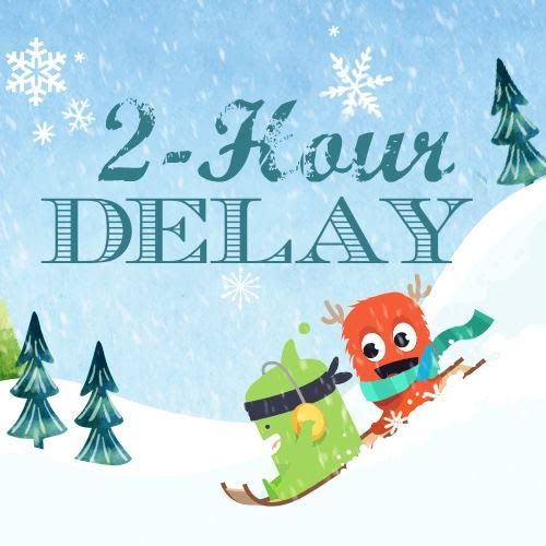 LCSD Will Be On A 2 Hour Delay For Friday January 19 2018