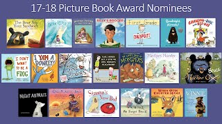 S.C. Picture Book Award Nominees 2017-2018