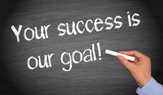 your success is our goal poster