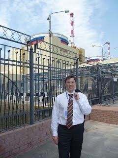Турбин Андрей, Ростовская АЭС