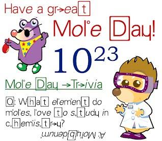 Mrs. Holden - Mole Day Celebra...