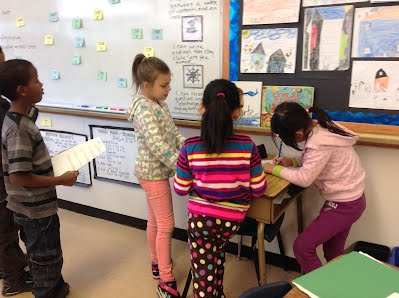 Helping Others Math Station - Mrs  Derouche's Class