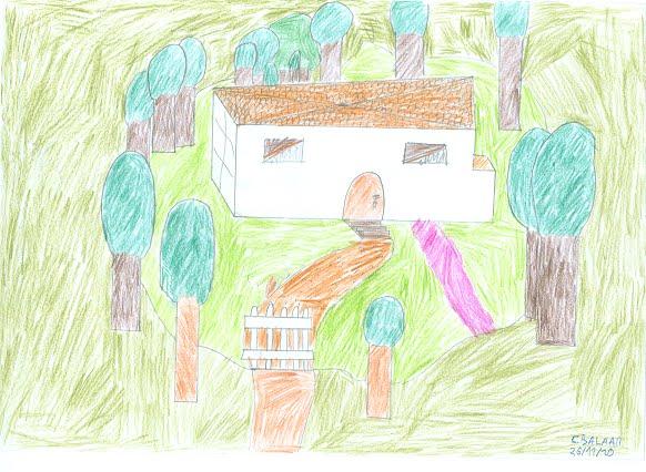 Illustrations r alis es par les 4 mes d partir d un for Andre maurois la maison