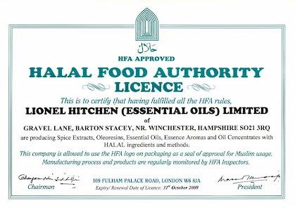 Halal Food & Beverage Flavors - Lionel Hitchen USA, ltd