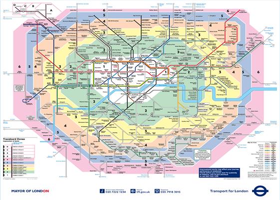 Cartina Metro Londra Con Monumenti.La Metropolitana Di Londra Stage Linguistici Londra