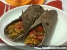 Ragi-Sprouts Wraps