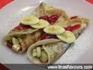 Strawberry Banana Crepes