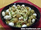Chickpeas Makhana Chat