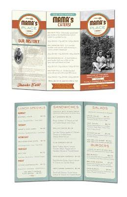 Mama's menu