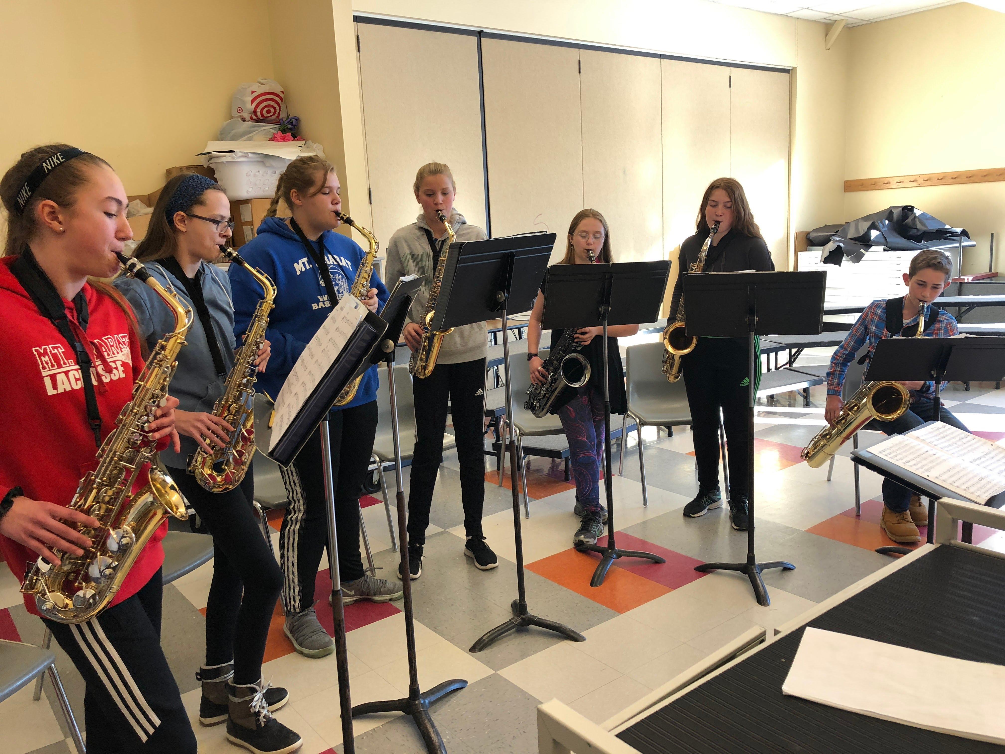 MAMS Saxophone Ensemble