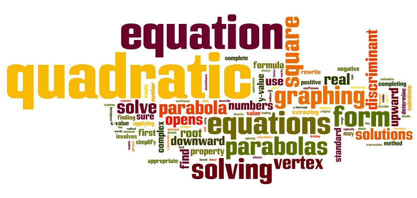 Unit 05: Quadratics - Mrs. Pierce - Algebra 1