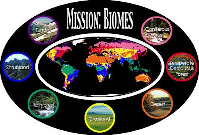 Biomes & Ecosystems Web Quest - 6th Grade Math and Science