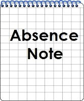 Ocean View Absence Note