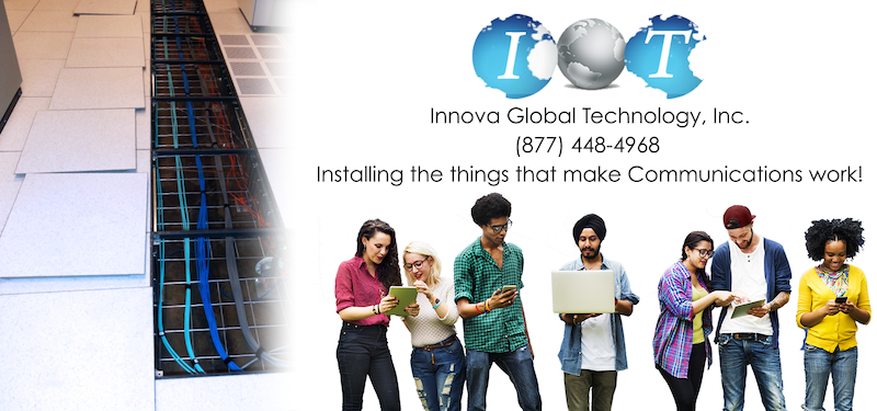 innova global technology inc commercial cabling and commercial cabling contractor