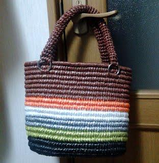 包み編みのかごバッグ-1