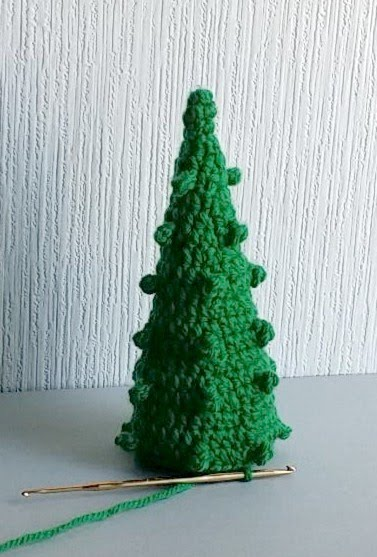 Christmas tree of crochet can wash all so is a clean and safety X'MAS tree
