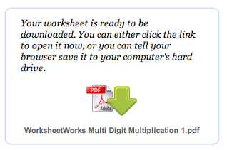 Tech Tip 7 & 8 - Worksheet Works and Winter Math Challenge ...