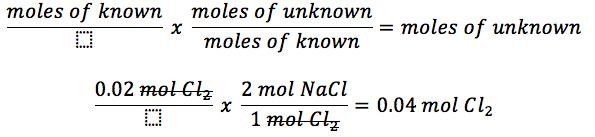 Stoichiometric Calculations - Lovejoy Pre AP Chemistry