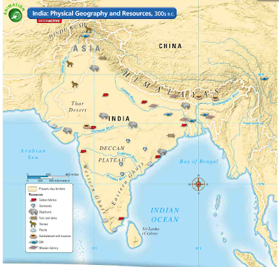Ancient India Map Harappa.7 1 I Can Identify The Major Physical And Political Features Of