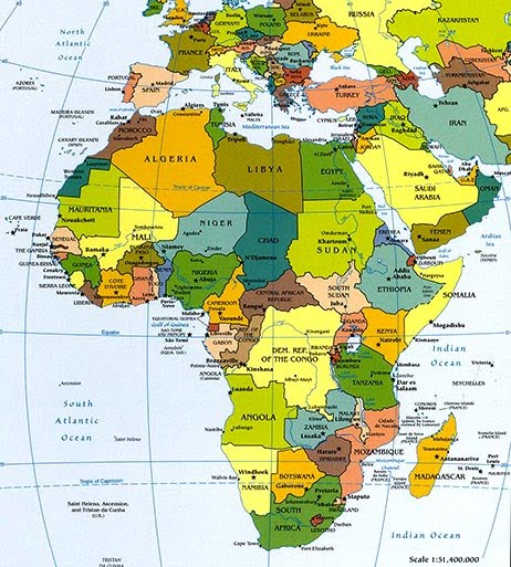 5.2 I can identify the major countries of modern Africa.   Reza's