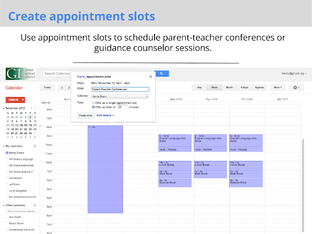 Create Appointments