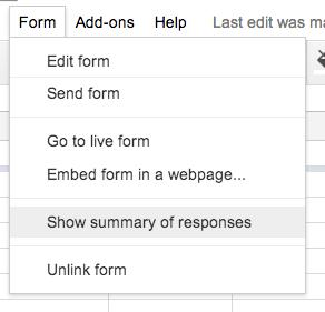 Viewing and Sharing the Google Form Response Sheet - Tech Basics