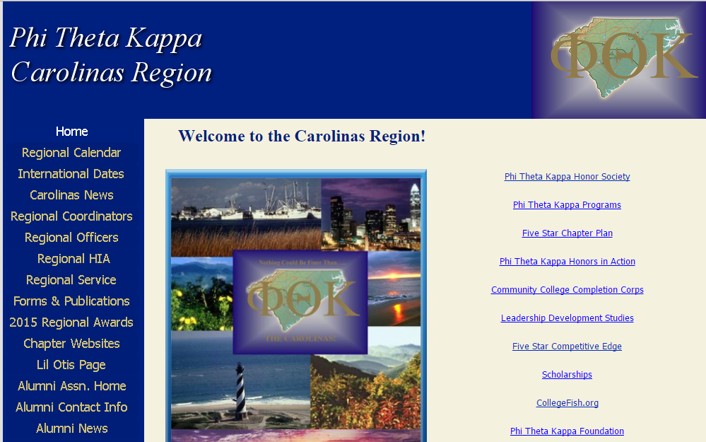 Carolinas Region Website