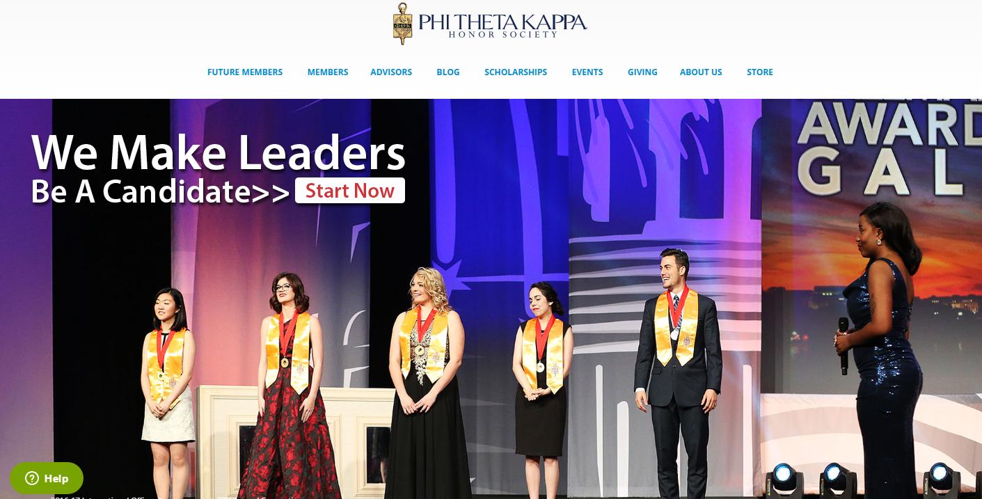Go To Phi Theta Kappa Website