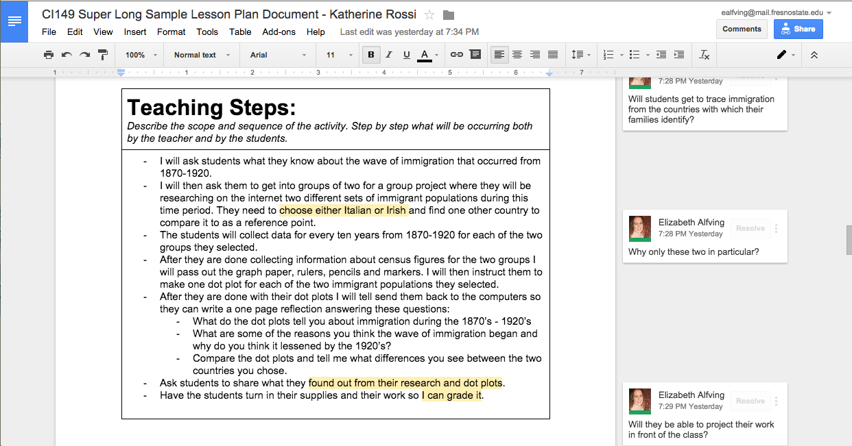 Quest Work With Me HereQuest Peer EvaluationQuest - 7 step lesson plan template