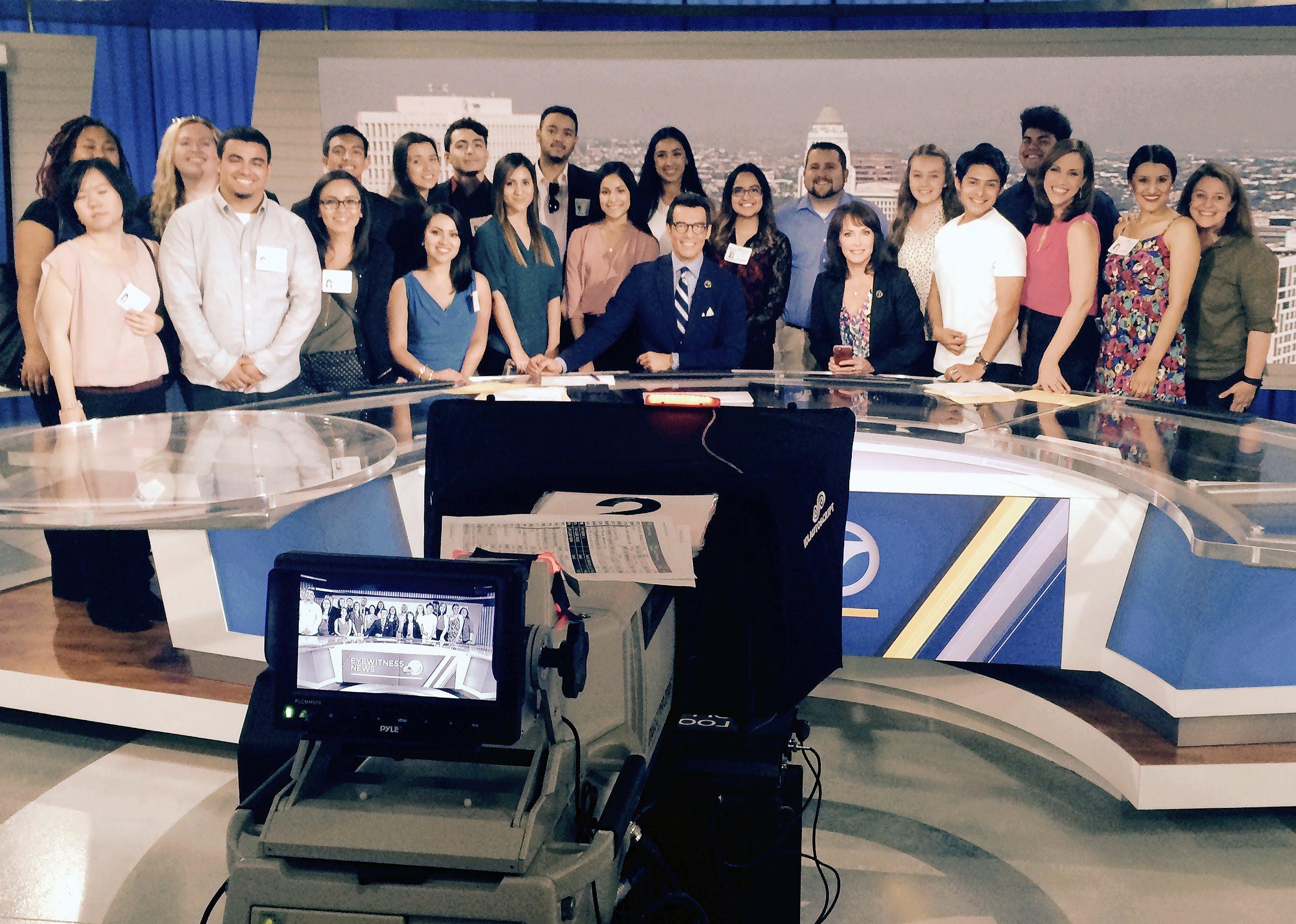 Los Angeles TV studio tour - May 2016