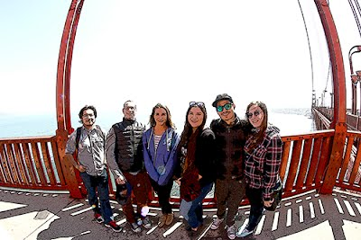 American Indian Studies students on field trip to San Francisco