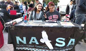 Native American Student Alliance students