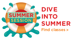 Summer Session, Dive Into Summer, Find Classes