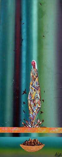 Conference Artwork titled The Harvest, by artist Preston Rodriguez