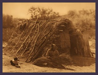 Photo of Digueno Indians by Edward Curtis