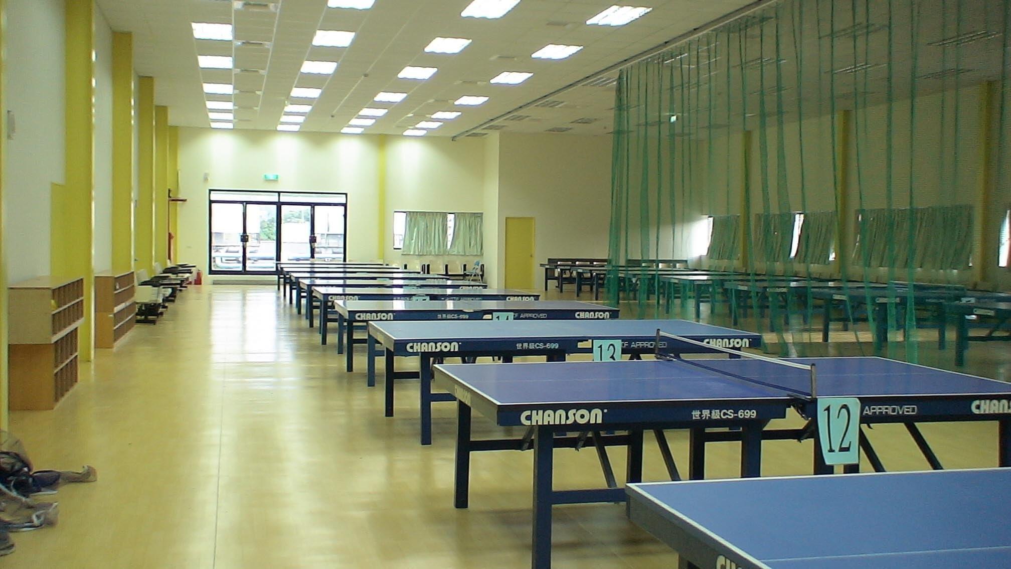 世新大學6F桌球教室