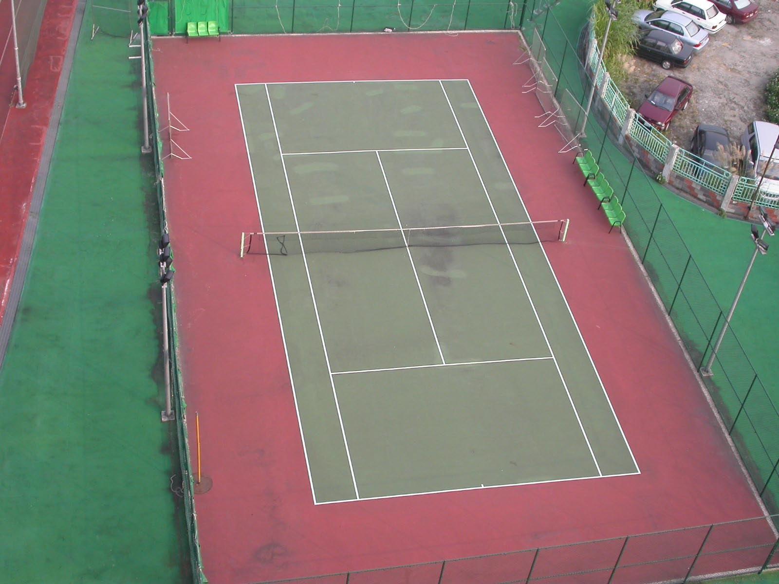 世新大學室外網球場
