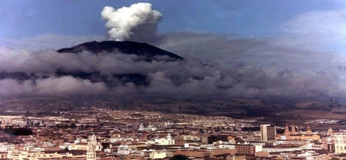 a study on the eruption of the nevado del ruiz volcano and the effects of the deadliest volcanic eru Comparisons with other eruptions develop a scale to compare the relative sizes of volcanic eruptions by the november 1985 eruption of nevado del ruiz.