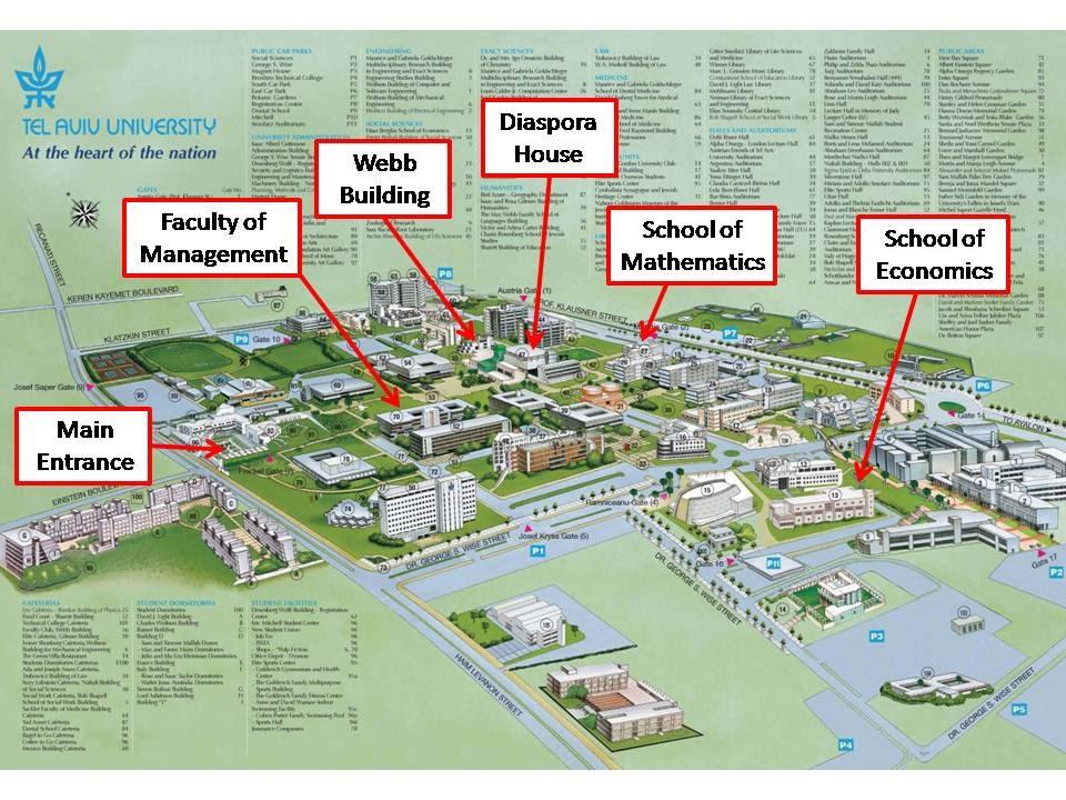 tel aviv university campus map Campus Details Joint Free University Of Berlin Tel Aviv tel aviv university campus map