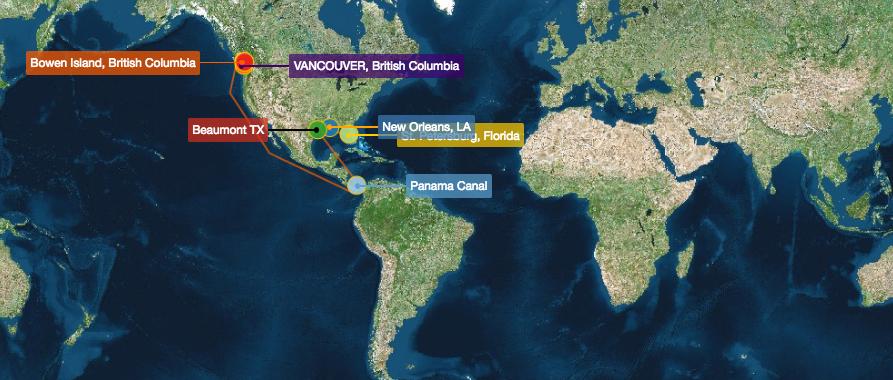 Nomadic Map