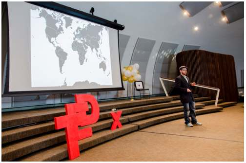 Justin Farrow at TEDx Tampa Riverwalk