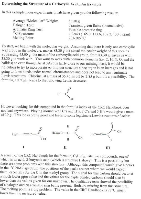 identification of unknown organic compound by melting point essay