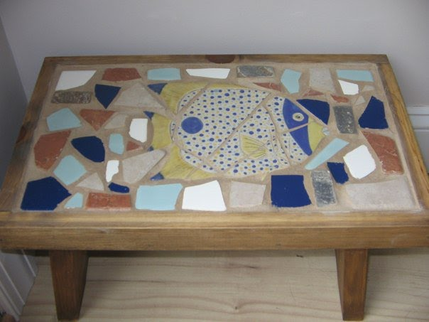Unique First Mosaic Project In Our Home
