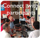 Connect with participants