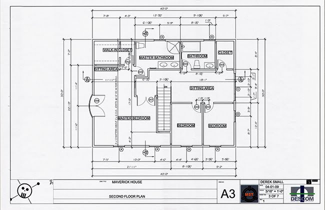 New Architectural Technical Plans Documentation Autodesk AutoCAD Residential Design