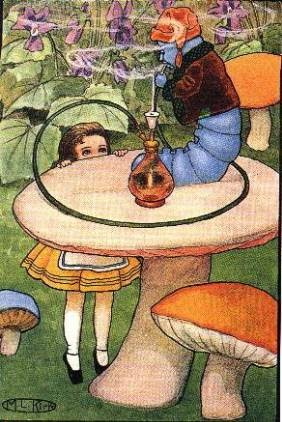 Sexual references in alice in wonderland