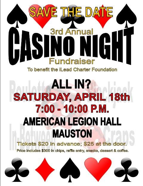 Casino night fund raiser casino charlestown in virginia west