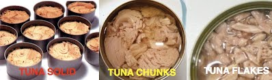 Jenis-jenis Tuna Kaleng